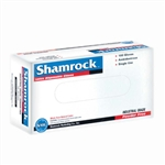 Shamrock 60000 Series Industrial Latex Disposable Gloves, Powder-Free, Textured, Large (10 boxes of 100)