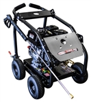 SIMPSON SuperPro Roll-Cage4000 PSI at 3.5 GPM HONDA GX270 with AAA Triplex Plunger Pump Cold Water Professional Gas Pressure Washer, Model # SW4035HADM