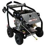 SIMPSON SuperPro Roll-Cage 4400 PSI at 4.0 GPM SIMPSON 420 with AAA Triplex Plunger Pump Cold Water Professional Gas Pressure Washer, Model # SW4440SCDM
