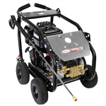SIMPSON SuperPro Roll-Cage 4400 PSI at 4.0 GPM SIMPSON 420cc with AAA Triplex Plunger Pump Cold Water Professional Belt Drive Gas Pressure Washer, Model # SW4440SCBDM