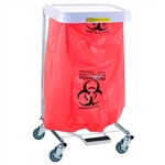 Biohazardous Waste Disposable Poly-Liners, # 690BW