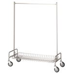 R&B Wire Basket Shelf for 703 Garment Rack