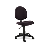 Alera Swivel Task Chair Acrylic Black ALEVT48FA10B