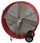 "Ventamatic MaxxAir Portable Air Circulator 30"" Direct Drive Drum Fan - 2 Speed # BF30DDRED"