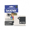 Brother LC51BK Innobella Ink, 500 Page-Yield, Black # B
