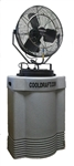 "Ventamatic Cool Draft 18"" High-Pressure Misting Fan with 40 gal Tank # CDHP1840GRY"
