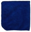 Microfiber Cleaning Cloths, Blue, 12x12, Pack of 12 (.35 EA)