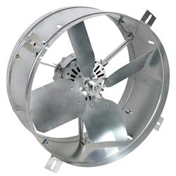 Ventamatic Cool Attic 1650 Cfm Gable Mount Power Attic