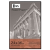 DAX Coloredge Poster Frame w/Plexiglas Window, 24 x 36,