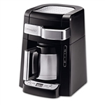 DeLONGHI 10-Cup Frontal Access Coffee Maker, Black # DLODCF2210TTC