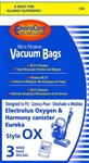 Electrolux Replacement Harmony/Oxygen Canister Bags (4 Pk) 135