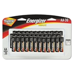 Energizer Alkaline Batteries, AA, 36 Batteries/Pack # E