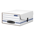 Bankers Box Liberty BinDERPak File Box, Ltr, Fileboard,