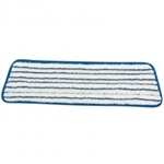 "Microfiber 18"" Flat Finish Velcro Floor Cleaning Mop Head FIN-FLAT"