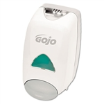 GOJO® Liquid Foaming Soap Dispenser, 1250ml, 6-1/8w x 5-1/8d x 10-1/2h, Gray/White # GOJ515006
