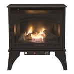 Kozy World GSD2210 The Phoenix Vent-Free Dual Fuel Gas Stove