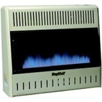 kozy world gwd308, blue flame wall heater