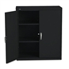 HON Assembled High Storage Cabinet, 2 Adjustable Shelve