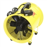 "Ventamatic MaxxAir Heavy Duty Cylinder Fan, 12"" Cylinder Fan 2000 CFM # HVHF12FAN"