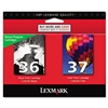 Lexmark 18C2229 (36; 37) Ink, 175 Page-Yield, 2/Pack, B