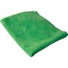 Microfiber Terry Cleaning Cloths 16x16 Green- Pack of 48