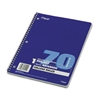 Mead Spiral Bound Notebook, College Rule, 8 x 10-1/2, W