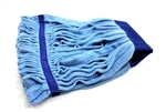 Microfiber Tube Mop Head, Large 16 oz, Blue