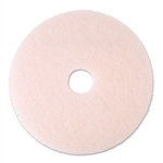 3M Eraser Burnish Floor Pad 3600, 20, Pink, 5 Pads/Carton # MMM25858