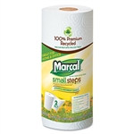 Marcal® Small Steps™ 100% Premium Recycled Roll Towels, 9 x 11, 60 Sheets/Roll, 15/Carton # MRC6709
