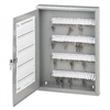 Securit Locking 100-Key Steel Cabinet, 16-1/2w x 3d x 2