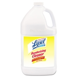 Professional LYSOL® Brand Disinfectant Deodorizing Cleaner, 1 gal. Bottle, Concentrate, Lemon, 4/Carton # RAC76334CT