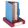 Smead Top Tab Classification Folders w/2 Dividers, 6-Se