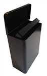 S.A.C. Sanitary Napkin & Tampon Disposal Receptacle -Black powder coated steel - 1 Unit # TD1000BK