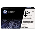 HP CF280A, HP-80A, Toner, 2700 Page-Yield, Black #HEWCF280A