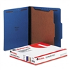 Universal Pressboard Classification Folders, Ltr, 4-Sec