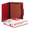 Universal Pressboard Classification Folders, Letter, 4-