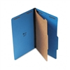 Universal Pressboard Classification Folders, Lgl, 4-Sec