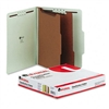 Universal Pressboard Classification Folder, Letter, 6-S