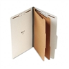 Universal Pressboard Classification Folder, Legal, 6-Se
