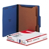 Universal Pressboard Classification Folders, Ltr, 6-Sec