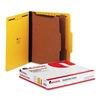 Universal Pressboard Classification Folders, Letter, 6-