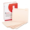 Universal File Folders, 1/5 Cut Assorted, Two-Ply Top T
