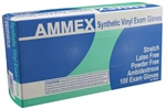 AMMEX Stretch Vinyl Disposable Gloves VSPF 5mil - Medium - Case of 1000