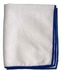 Microfiber Cleaning Cloths, White, 16x16, Pack of 12 (.49 EA)
