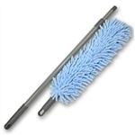 "Chenille Microfiber 12"" Flexible Duster Kit (includes wand, cover, and handle)"