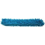 Chenille Microfiber Duster Replacement Sleeve Cover, Blue, 12""