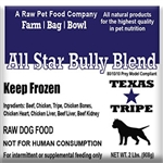 ALL STAR BULLY BLEND 20lb. case