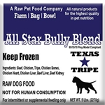 BULK PACK ALL STAR BULLY BLEND 40lb case