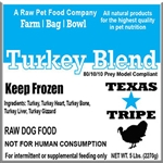 Bulk Turkey Blend 40lb case