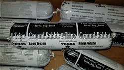 Beef Tripe and Ground Rabbit - 20 lb. case
